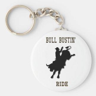 Llavero del paseo de Bull Bustin