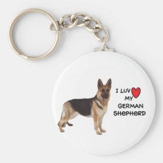Llavero del pastor alemán