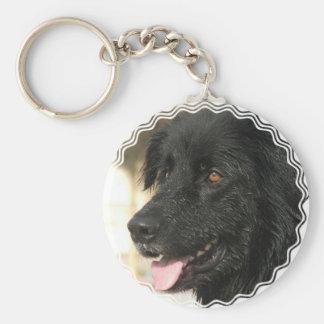 Llavero del perrito de Terranova