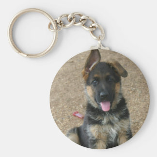 Llavero del perrito del pastor alemán