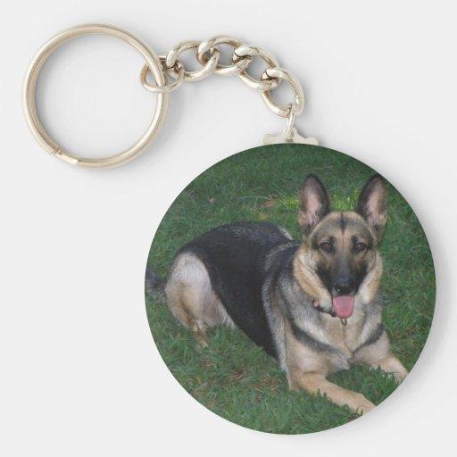 Llavero del perro de pastor alemán