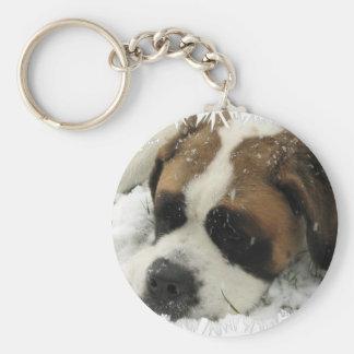 Llavero del perro de St Bernard