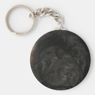 Llavero del perro de Terranova