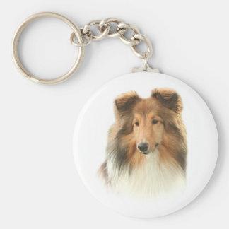 Llavero del perro pastor de Shetland