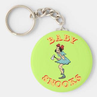 Llavero del personalizable de los Snooks del bebé