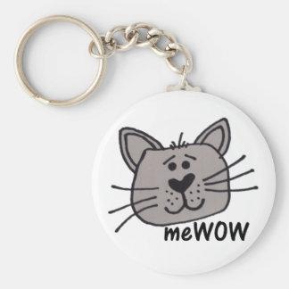 Llavero del personalizable de MeWOW del gato