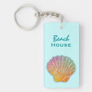 Llavero del personalizado de la casa de playa del