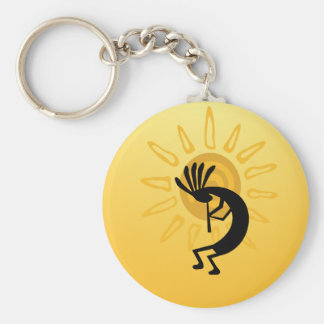 Llavero del personalizado de Sun del oro de Kokope