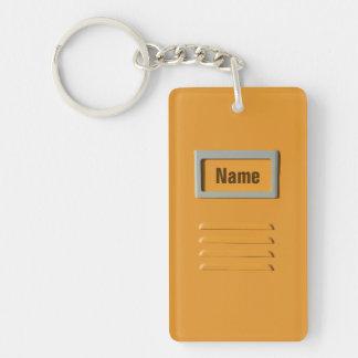 Llavero del personalizado del gabinete de fichero