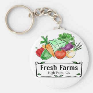 Llavero del personalizado del mercado de los granj
