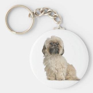 Llavero del personalizado del perro de perrito de