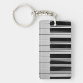 Llavero del personalizado del teclado de piano