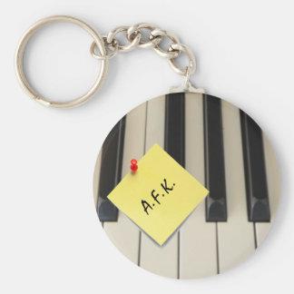 Llavero del piano A.F.K. (lejos del teclado)