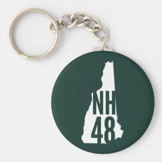 Llavero del pie de página de New Hampshire 4000