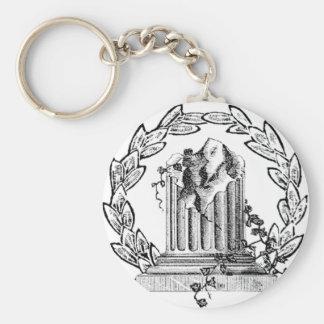 Llavero del Pin de la ventana del Freemason