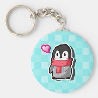 Llavero del pingüino de Chibi