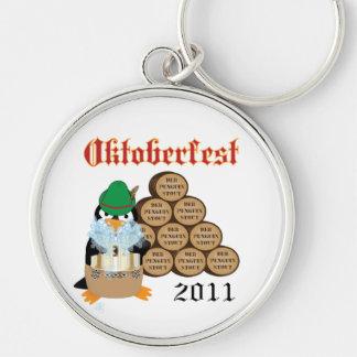 Llavero del pingüino de Oktoberfest