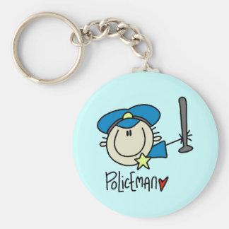 Llavero del policía