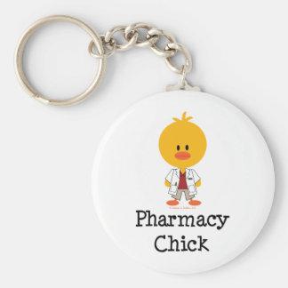 Llavero del polluelo de la farmacia
