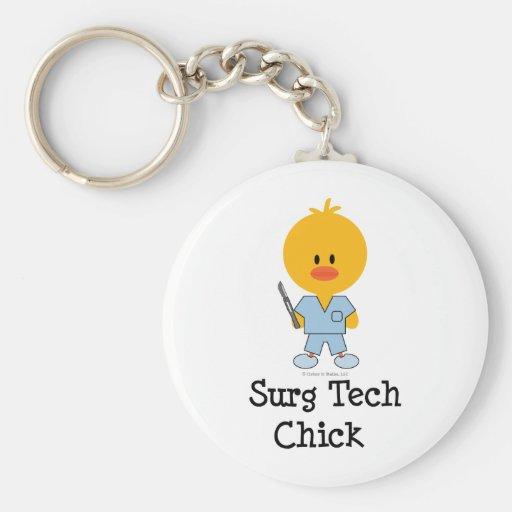 Llavero del polluelo de la tecnología de Surg