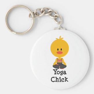 Llavero del polluelo de la yoga