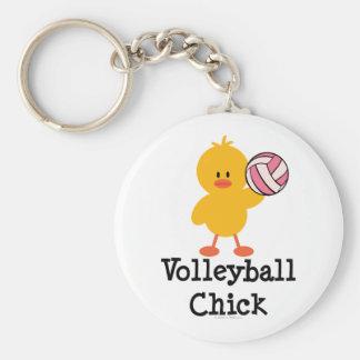 Llavero del polluelo del voleibol