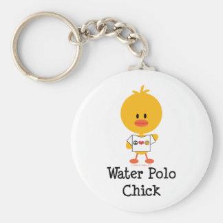 Llavero del polluelo del water polo