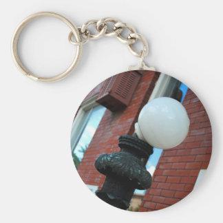 Llavero del poste de la lámpara