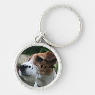 Llavero del premio de Jack Russell Terrier