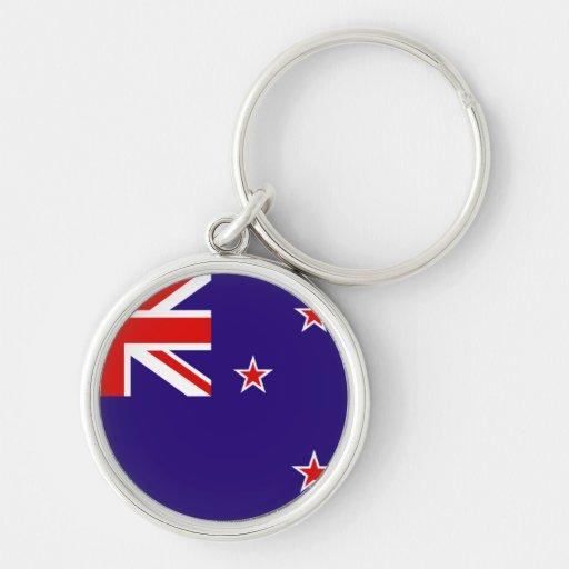 Llavero del premio de la bandera de Nueva Zelanda