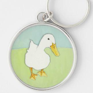 Llavero del premio del beso del pato