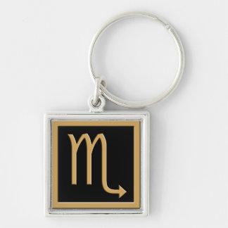 Llavero del premio del diseño del símbolo del oro