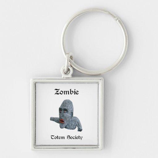 Llavero del premio del zombi de la sociedad del tó