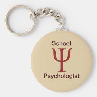 Llavero del psicólogo de la escuela