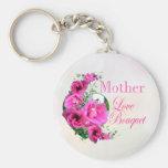 Llavero del ramo del amor para el día de madre