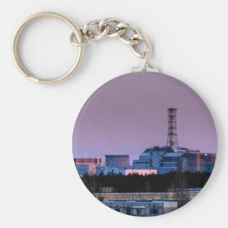 Llavero del reactor 4 de Chernóbil