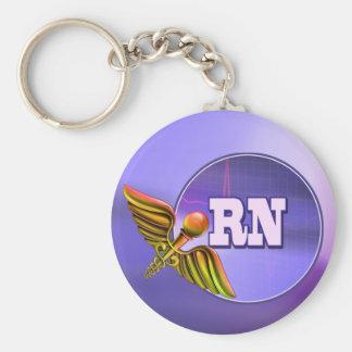 Llavero del regalo del RN de la enfermera registra
