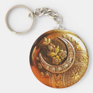 Llavero del reloj de bolsillo del oro