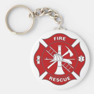 Llavero del rescate del fuego