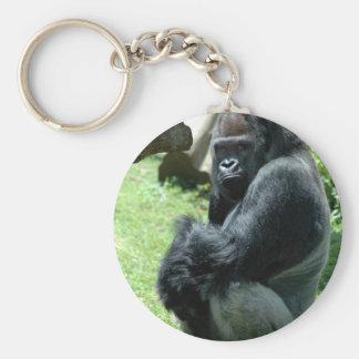 Llavero del resplandor del gorila