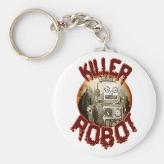 Llavero del robot del asesino