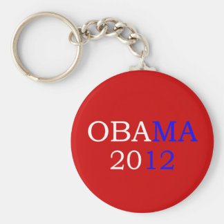 Llavero del rojo de Obama 2012
