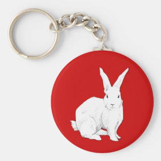 Llavero del rojo del conejo