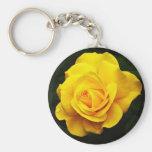 Llavero del rosa amarillo