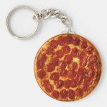Llavero del salchichón de la pizza