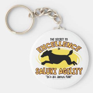 Llavero del secreto de Saluki de la agilidad