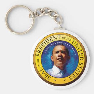 Llavero del sello de presidente Barack Obama