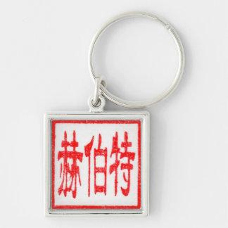 Llavero del sello del chino