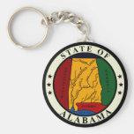 Llavero del sello del estado de Alabama