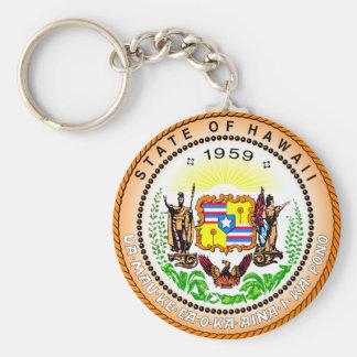 Llavero del sello del estado de Hawaii